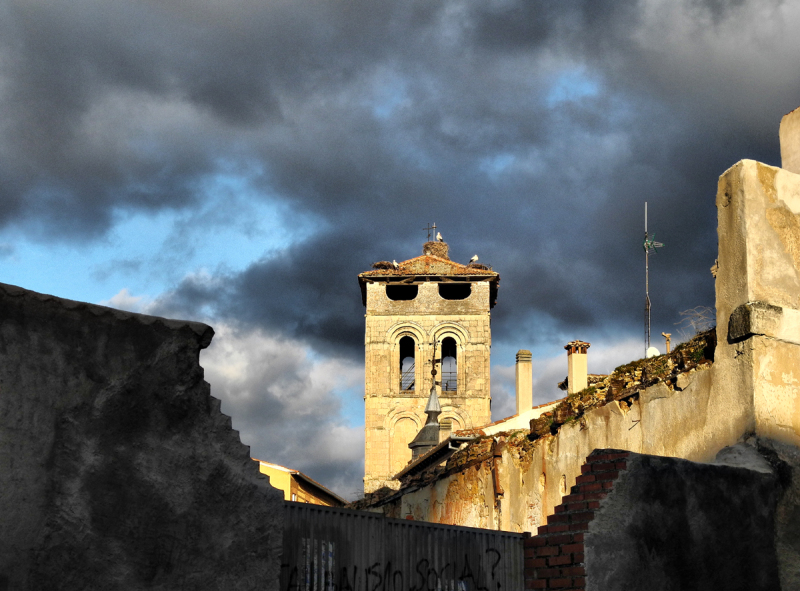 Segovia St Justo Spain