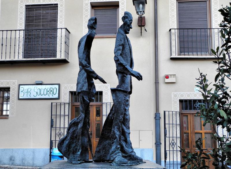 Segovia Sculpture Spain