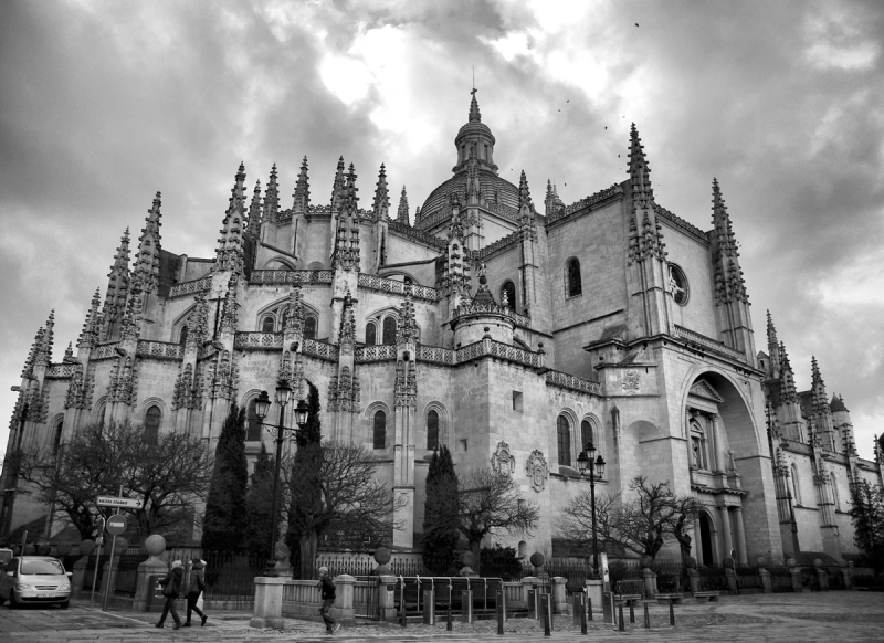 Segovia Cathedral Spain