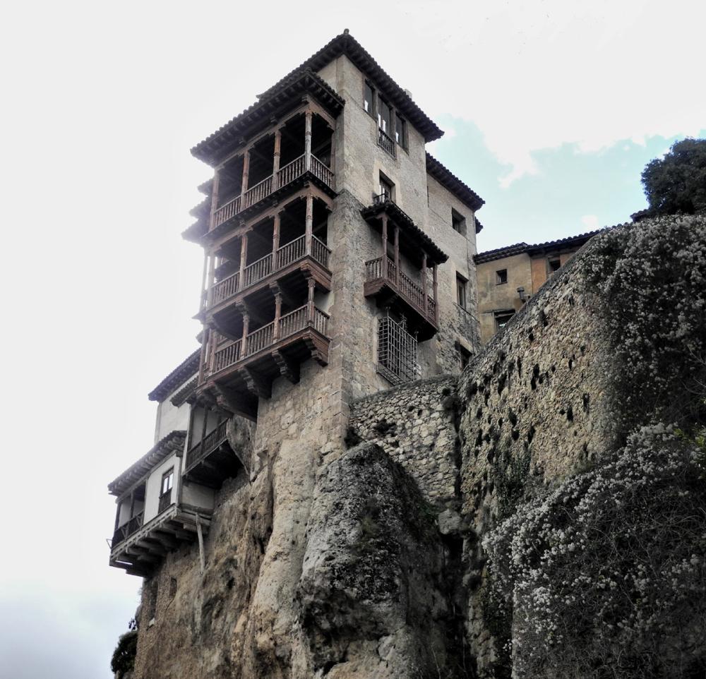 Cuenca Spain Hanging House