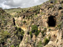 Iron Mine Alfaix Campo Andalusia Spain