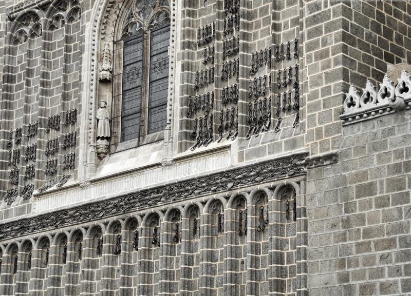 Toledo Spain Church Chains