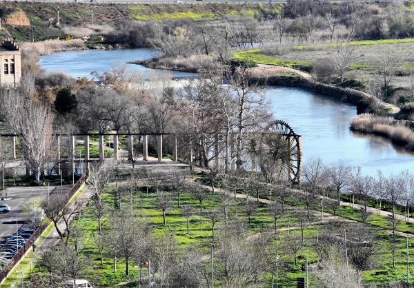 Toledo Spain Water Wheel