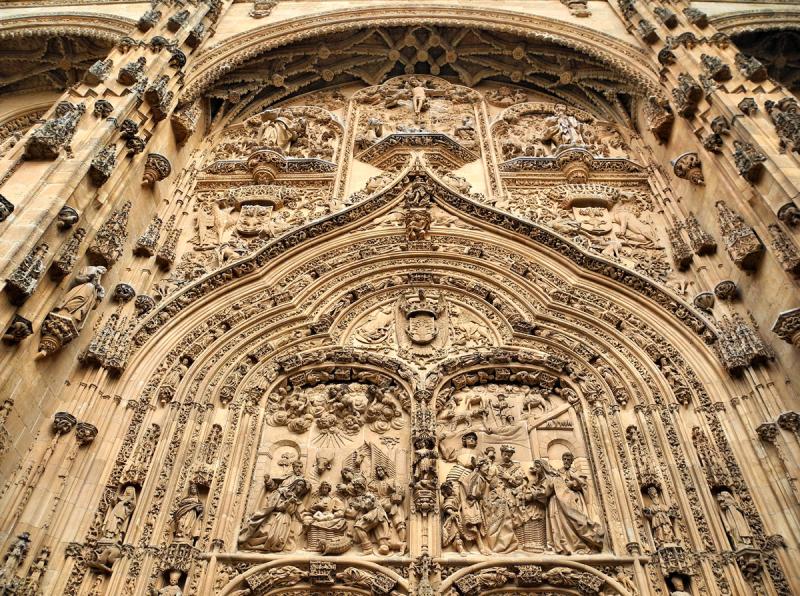 Salamanca Spain Cathedral