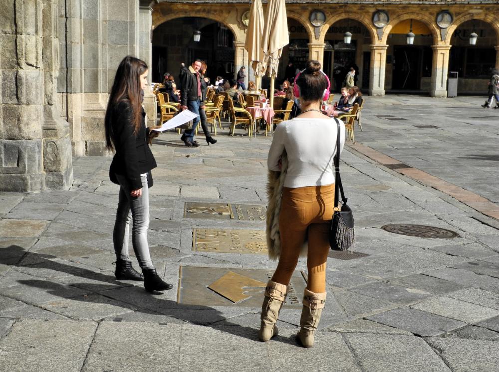 Salamanca Spain Outdoor Study