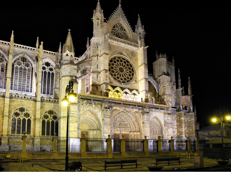 Leon Spain Cathedral
