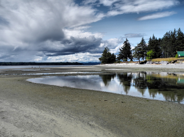 Smelt Beach Cortez BC Canada