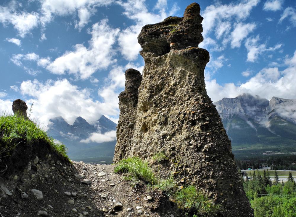 Canmore Alberta Canada Hoodoos