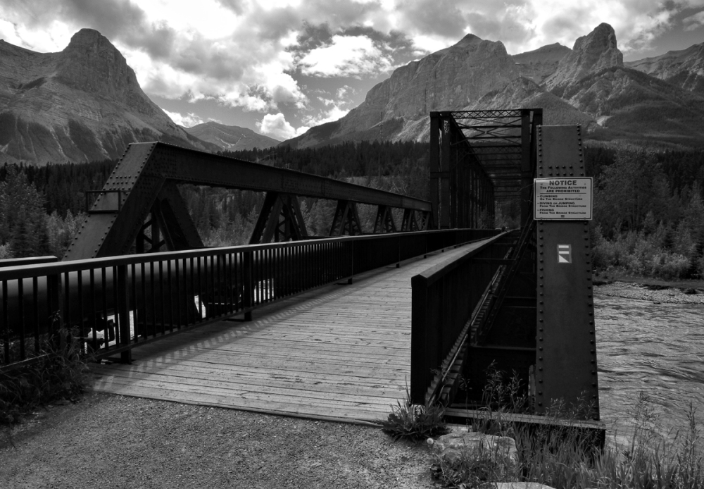 Canmore Alberta Canada Engineers Bridge