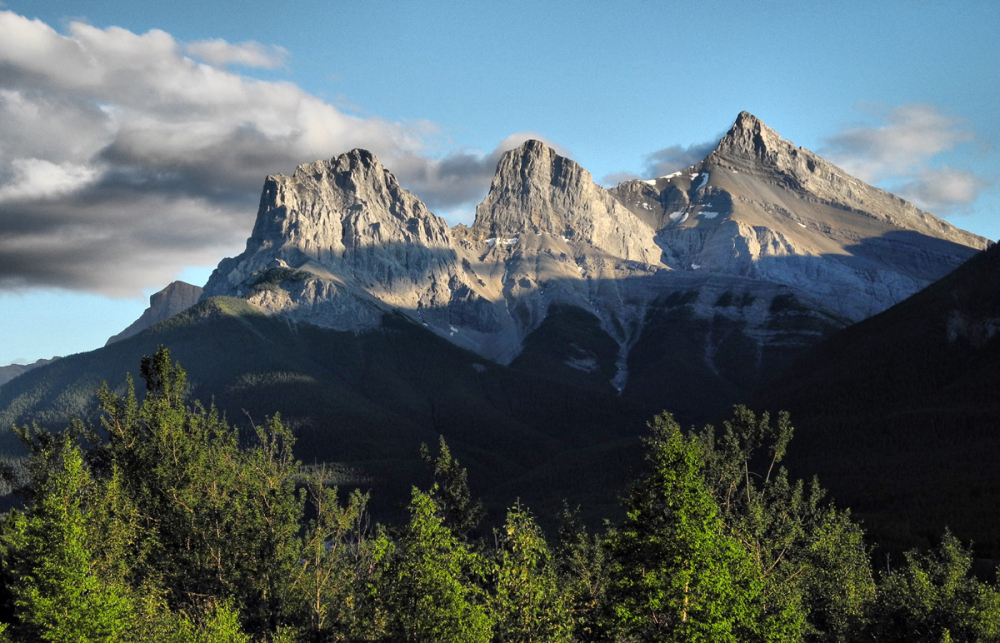 Canmore Alberta Canada 3 Sisters