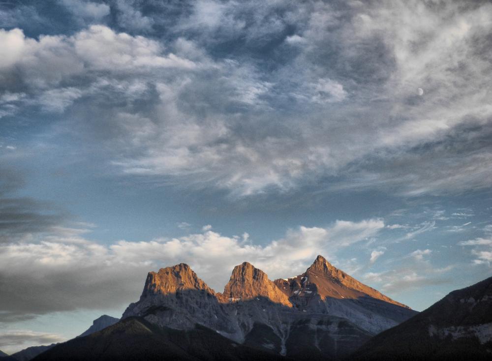 Canmore Alberta Canada 3 Sisters