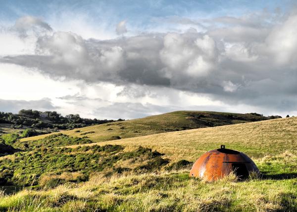 Dorset Coast Path Pill Box