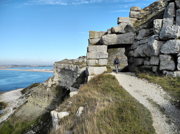 Coast Path Portland Dorset UK
