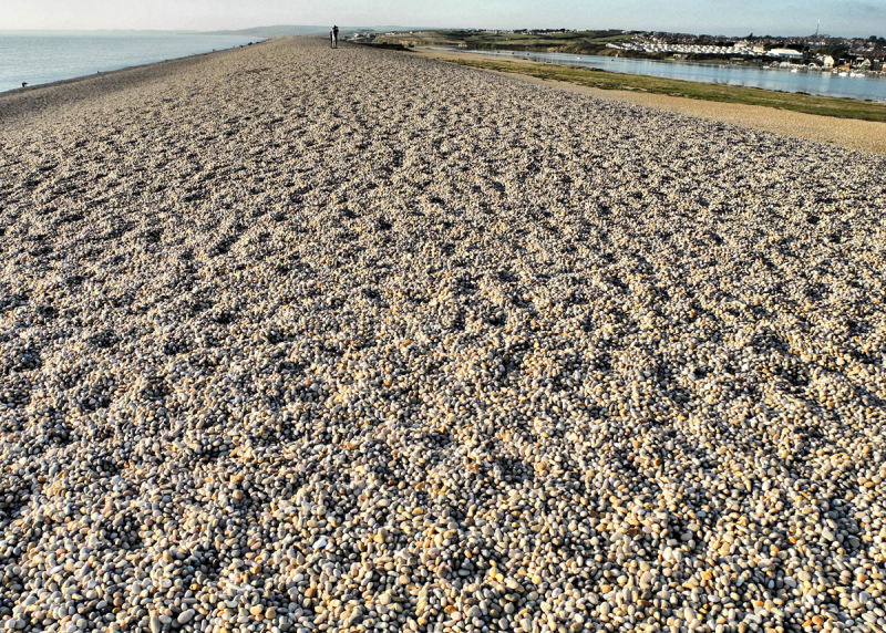 Chesil Beach Portland Dorset UK