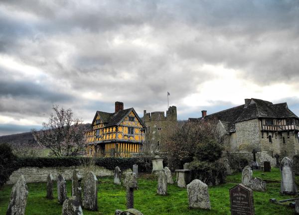 Stokesay Castle Craven Arms South Shropshire UK