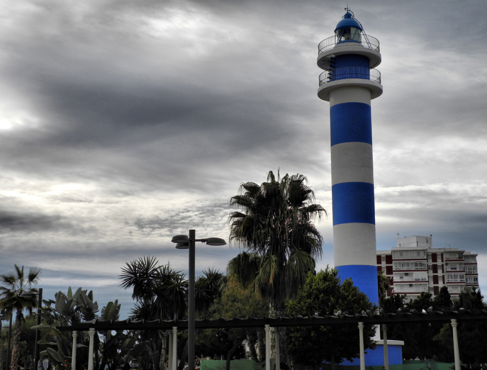 Lighthouse Torre del Mar Axarquia Andalusia Spain