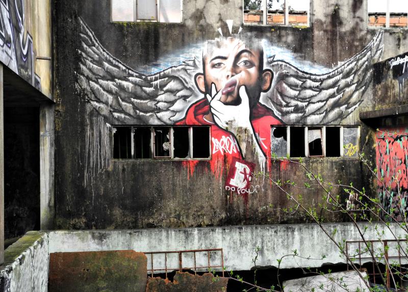 Graffiti Porto Portugal