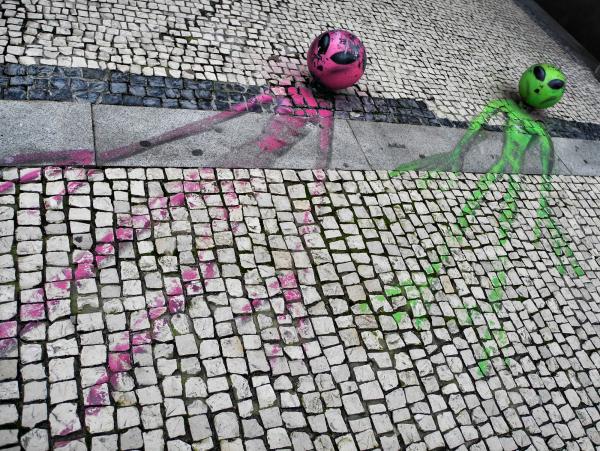 Porto Portugal Aliens