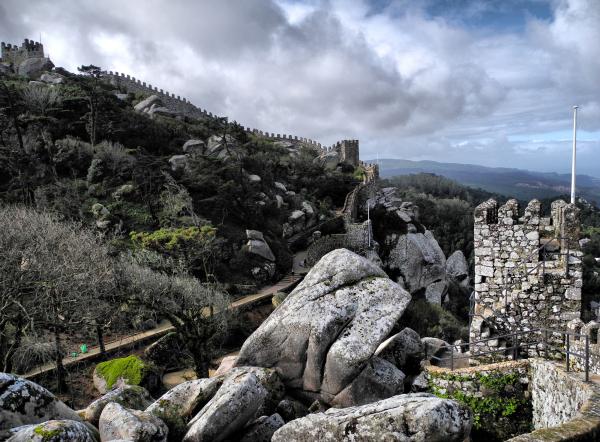 Sintra Moorish Castle Portugal