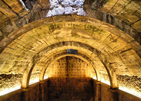 Sintra Moorish Castle Portugal Cistern