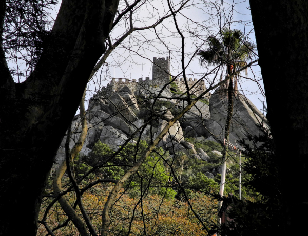 Sintra Moorish Castle Portugal