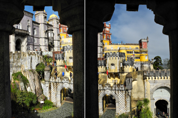 Sintra Pena Palace Portugal