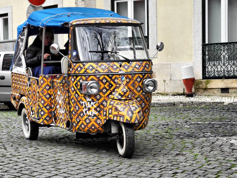 Lisbon Tuk Tuk Portugal
