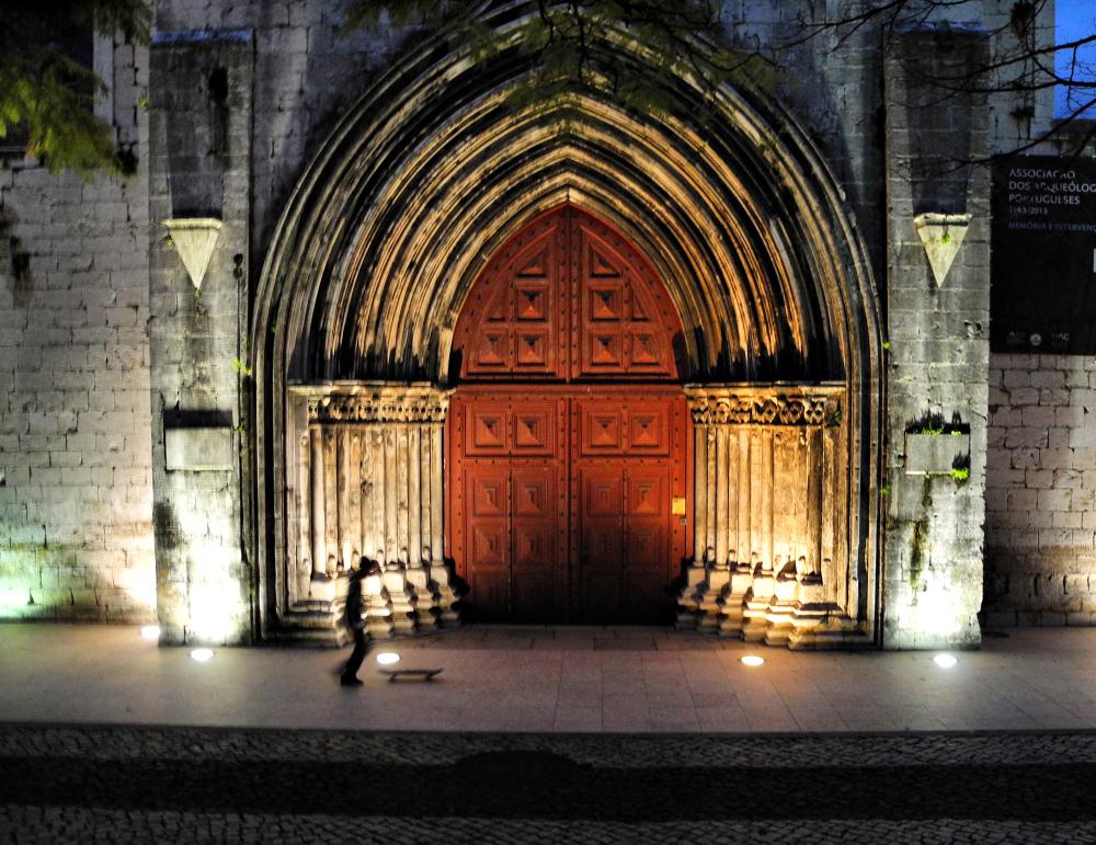 Lisbon Church Portugal