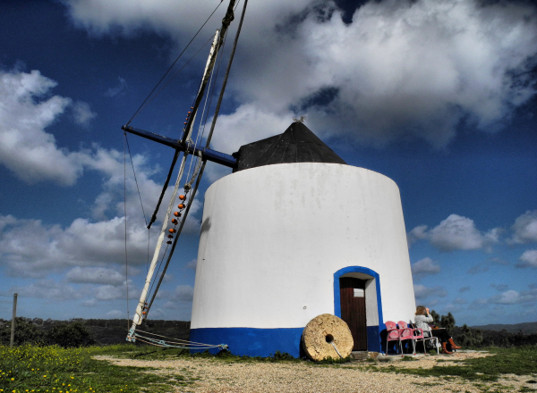 Windmill Odeceixe Portugal