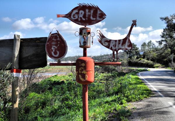 Robot Sign Odeceixe Portugal