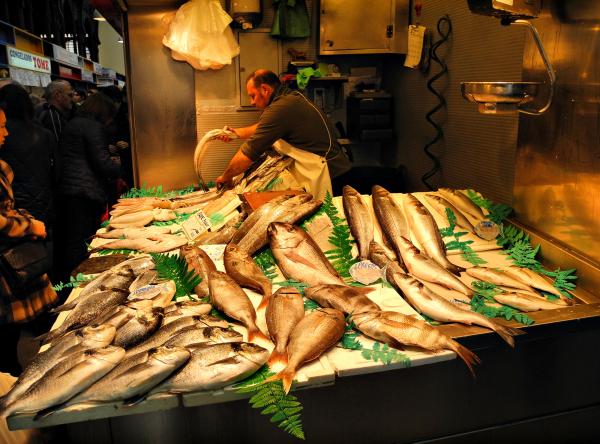 Market Malaga Andalucia Spain