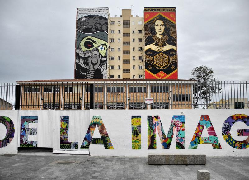 War and Peace Malaga Andalusia Spain