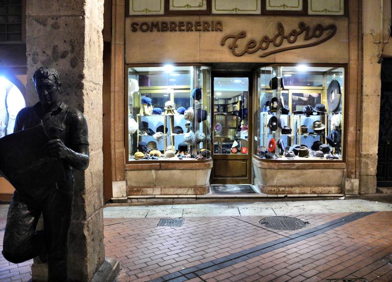 Burgos Spain Hat Shop
