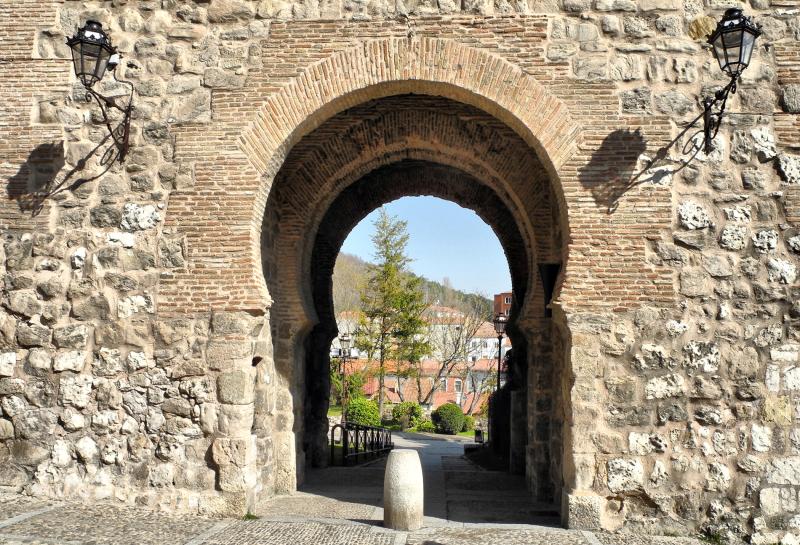 Burgos Spain Old City walls