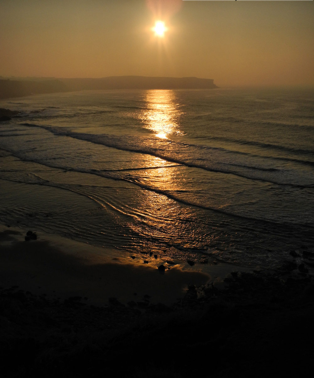 Suances Spain Sunset