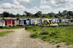 Beach Huts Whitstable UK