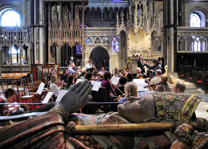 Concert Canterbury Cathedral UK