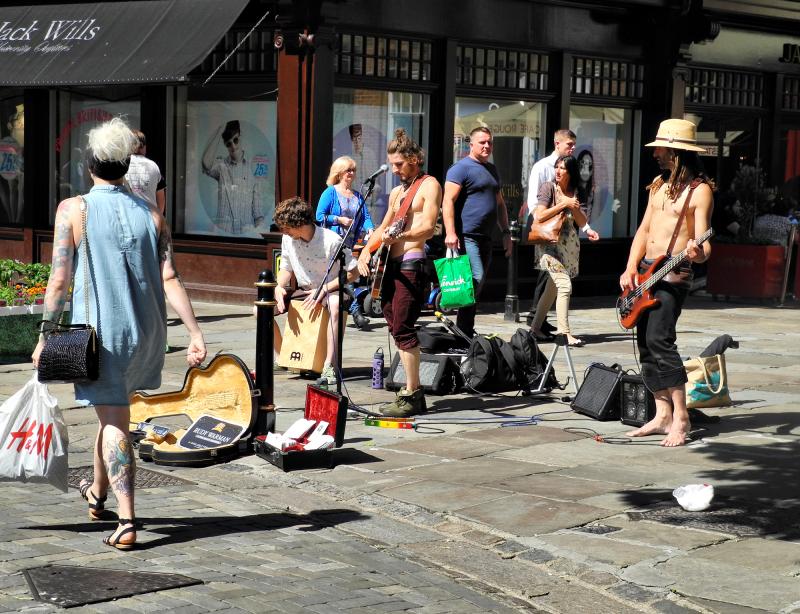 Concert Canterbury Streets UK
