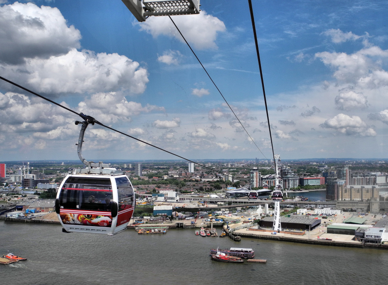 Cable Car London UK