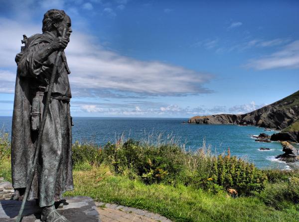 Saint Caranog Llangranog Wales