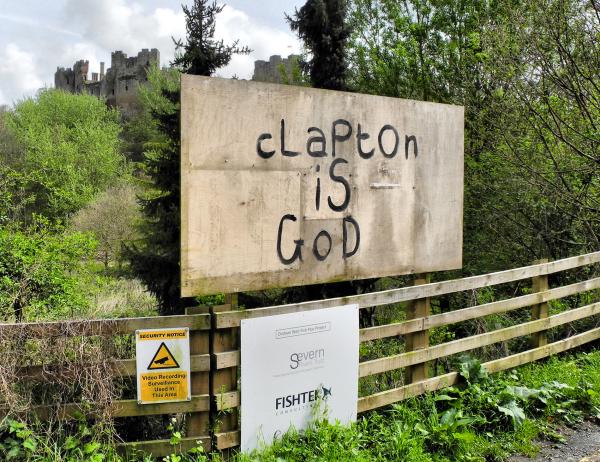 Clapton Ludlow Shropshire UK
