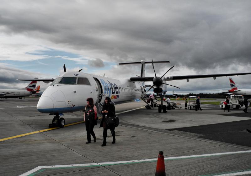 Edinburgh Airport Scotland UK