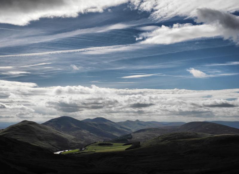 Edinburgh Pentland Hills Scotland UK