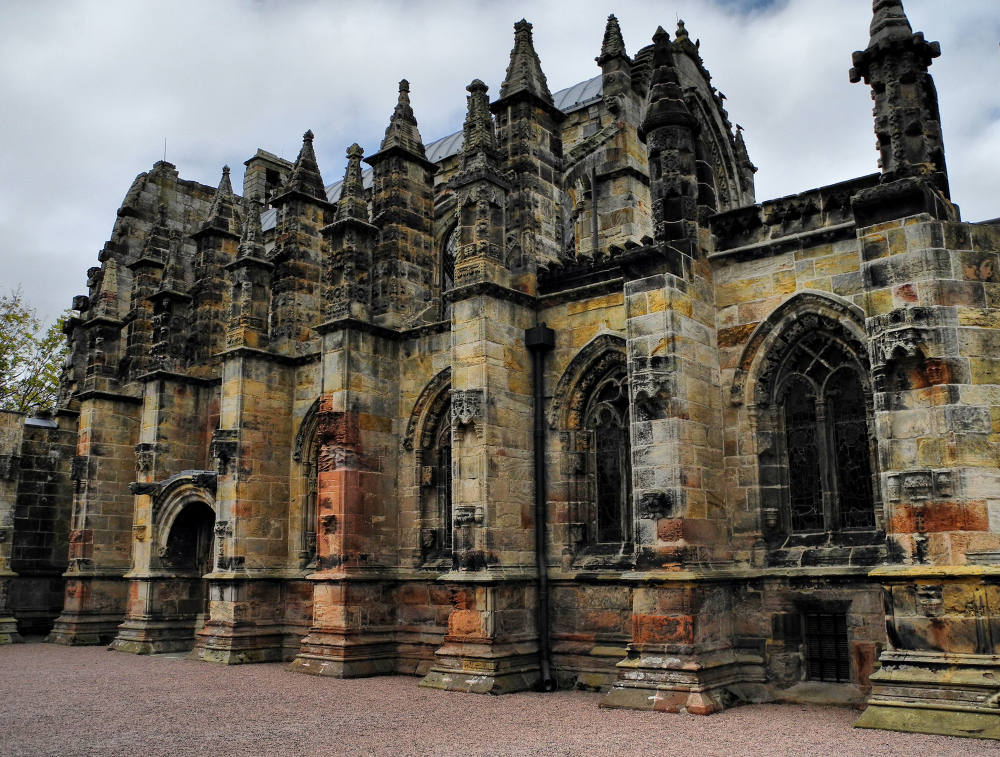 Edinburgh Rosslyn Chapel Scotland UK