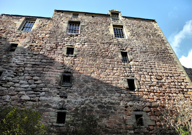 Edinburgh Rosslyn Castle Scotland UK