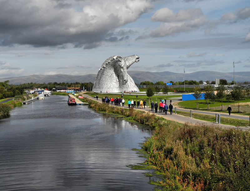 Falkirk Kelpies Scotland UK