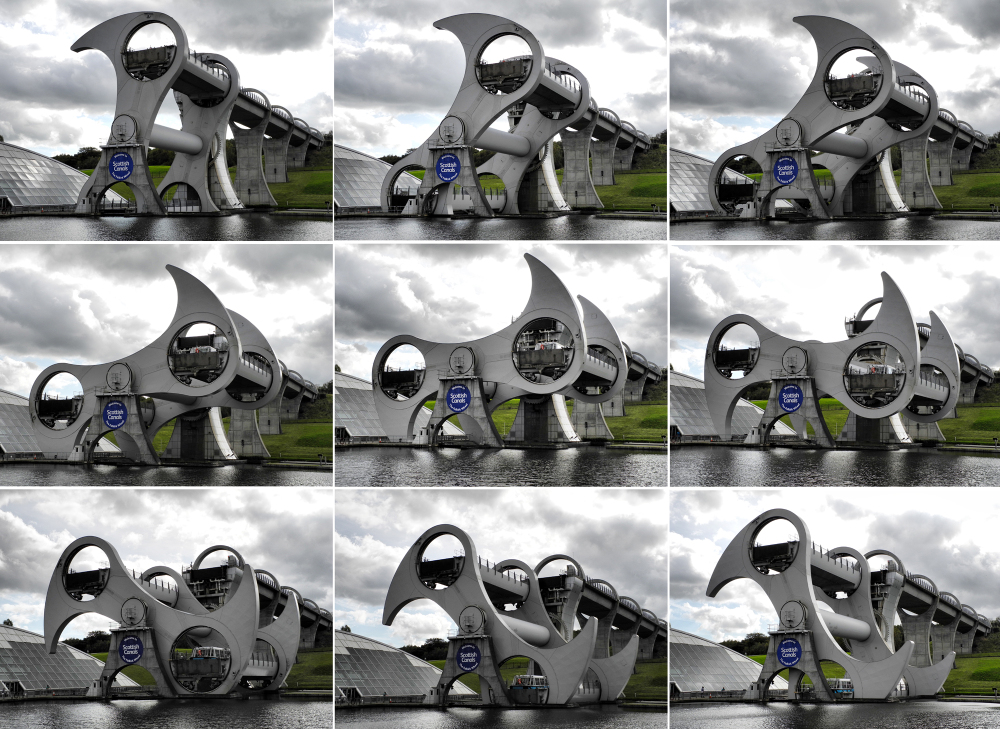 Falkirk Wheel Scotland UK