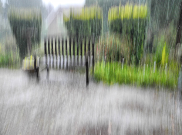 Hail Ludlow Shropshire UK