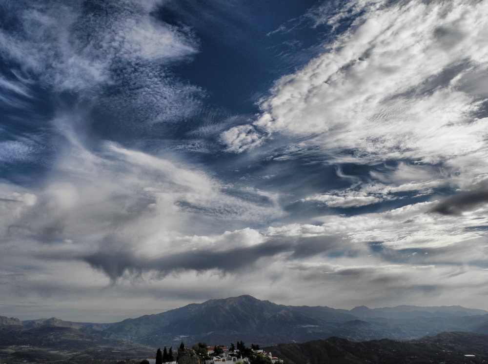 Comares Axarquia Andalusia Spain Maroma