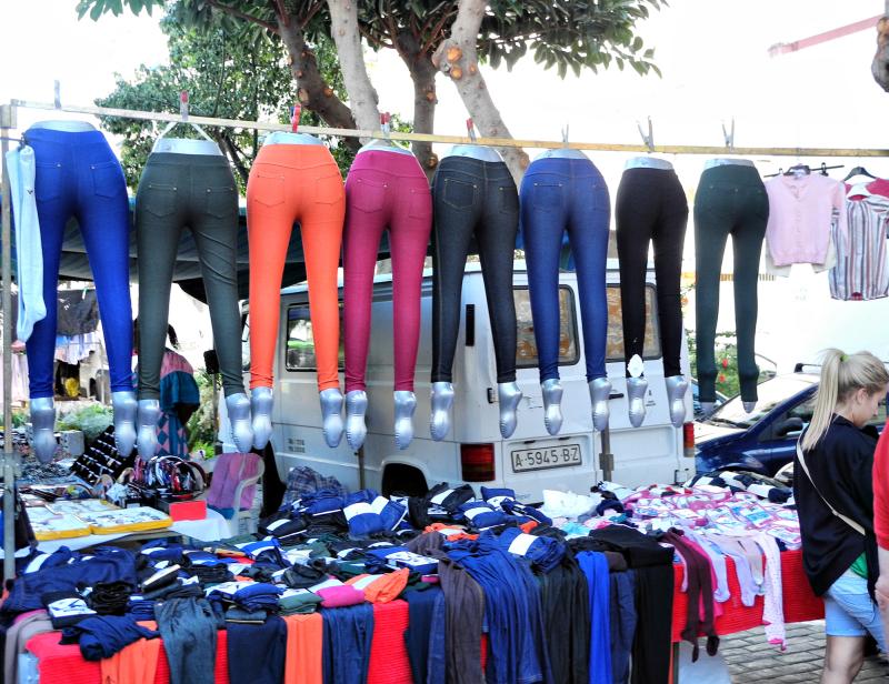 Torre Del Mar Market Legs Axarquia Spain